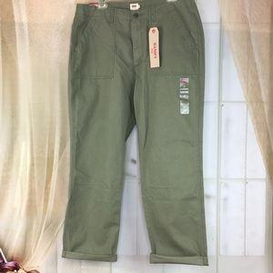 Levi's Pants - Levi's Green Utility Chino Cotton Pants